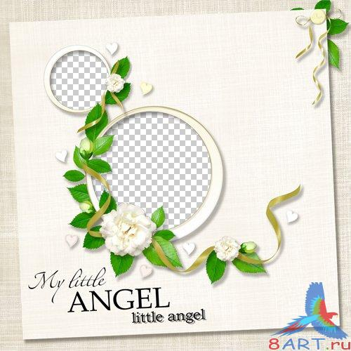 4 elegant Quick Pages-My little Angel