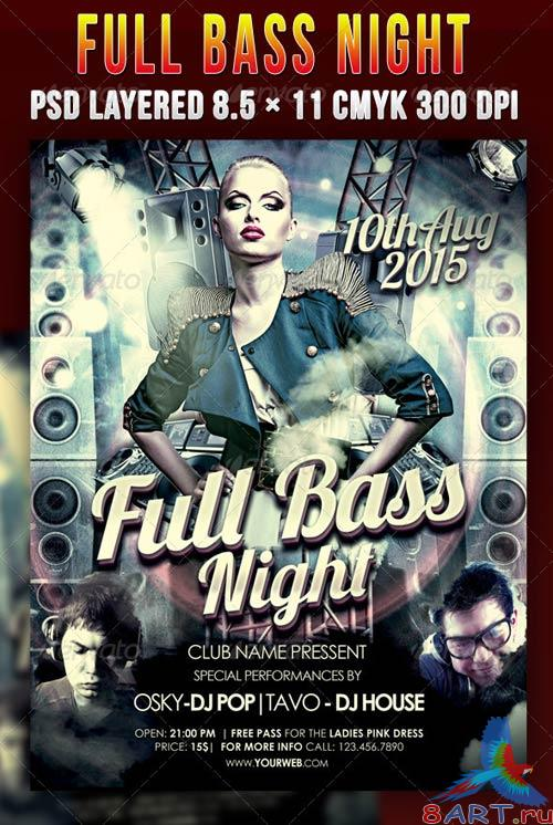 GraphicRiver Full Bass Night