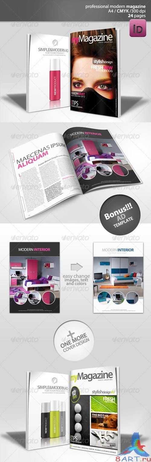 GraphicRiver Modern Magazine 24 pages
