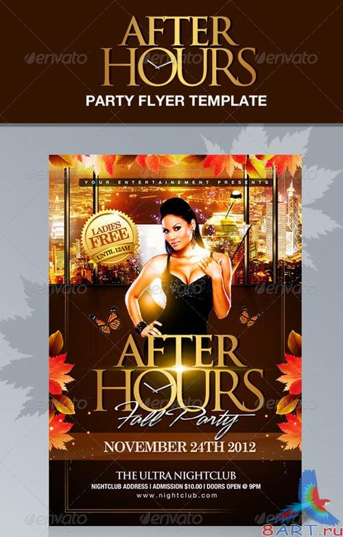 GraphicRiver After Hours Party Flyer Template
