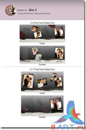Graphic Authority Wedding Templates v1 - Disk2
