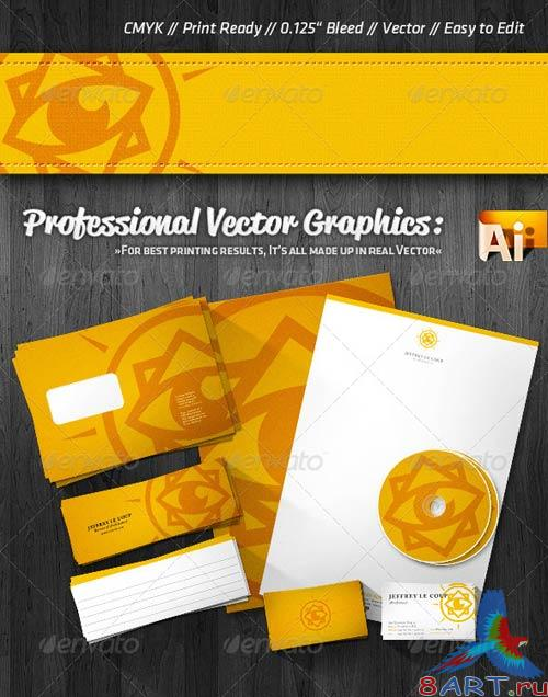 GraphicRiver Professional Clean Corporate Identity Package
