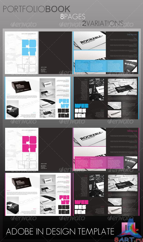 GraphicRiver - Portfolio Book (8 pages)