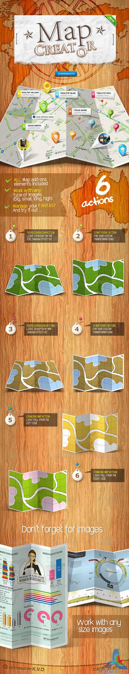 GraphicRiver - Map Creator - Action