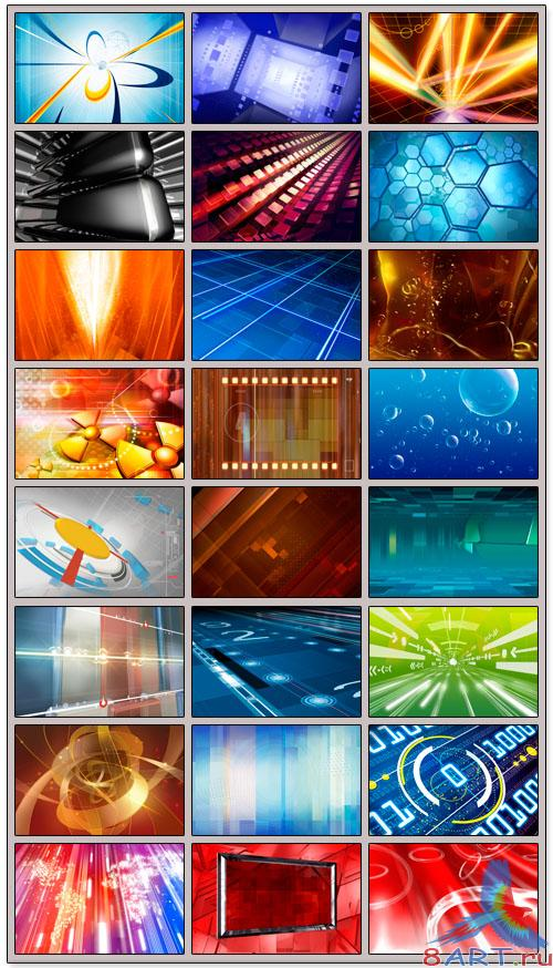 Abstract Backgrounds 2 - PSD