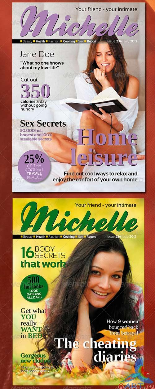 GraphicRiver 68 Pages Women Magazine Pack 2