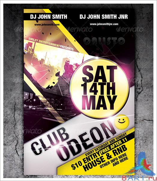 Club Flyer Template - GraphicRiver