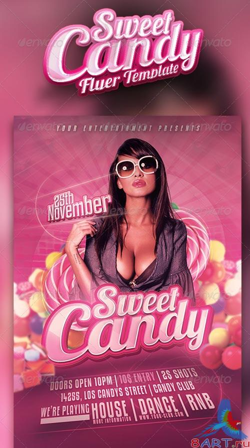 GraphicRiver Sweet Candy Flyer Vol. 3