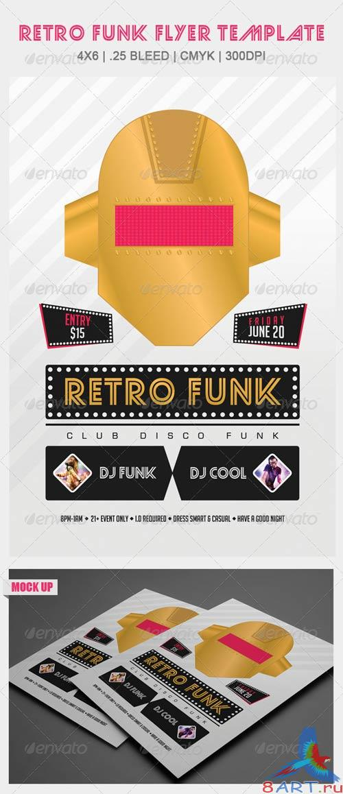 GraphicRiver Retro Funk