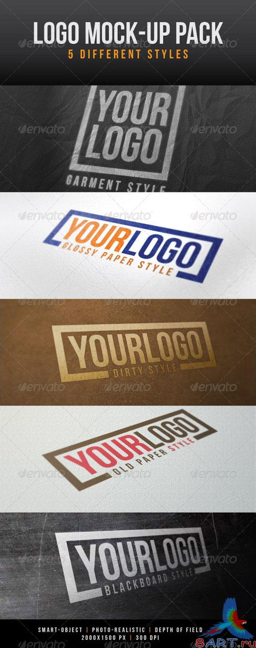 GraphicRiver - Logo Mock-Up Pack 1032217
