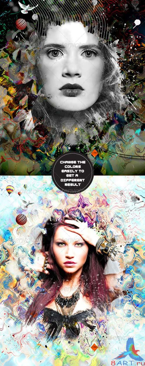 GraphicRiver The Artist - Volume3