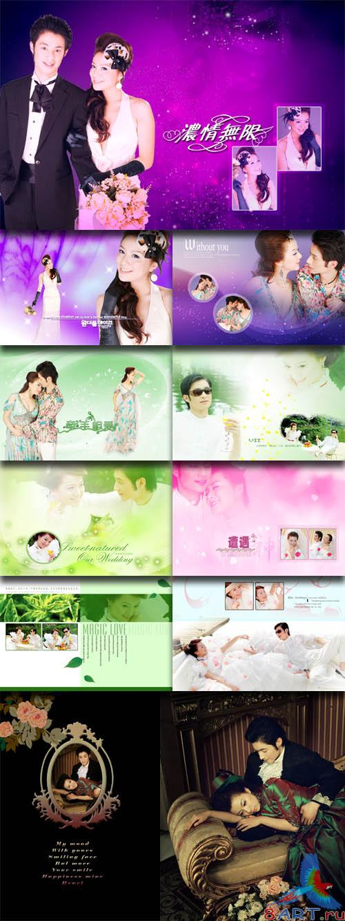 PhotoTemplates - Wedding Collection Vol.12 (77519)