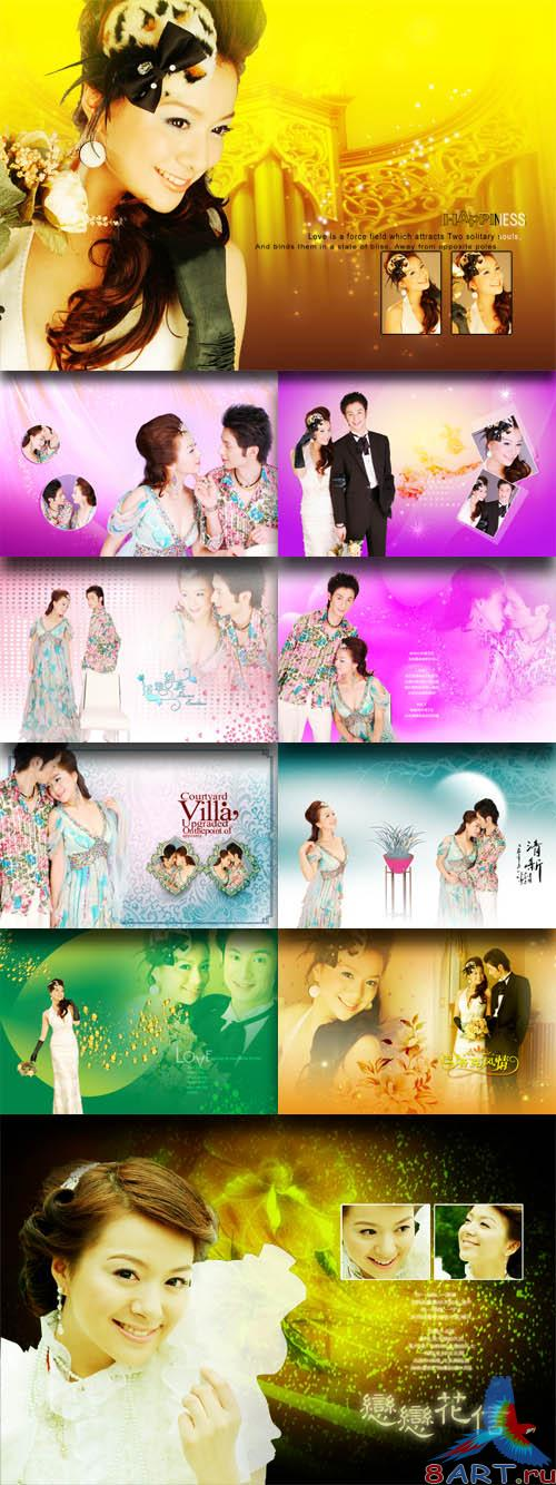 PhotoTemplates - Wedding Collection Vol.13 (77524)