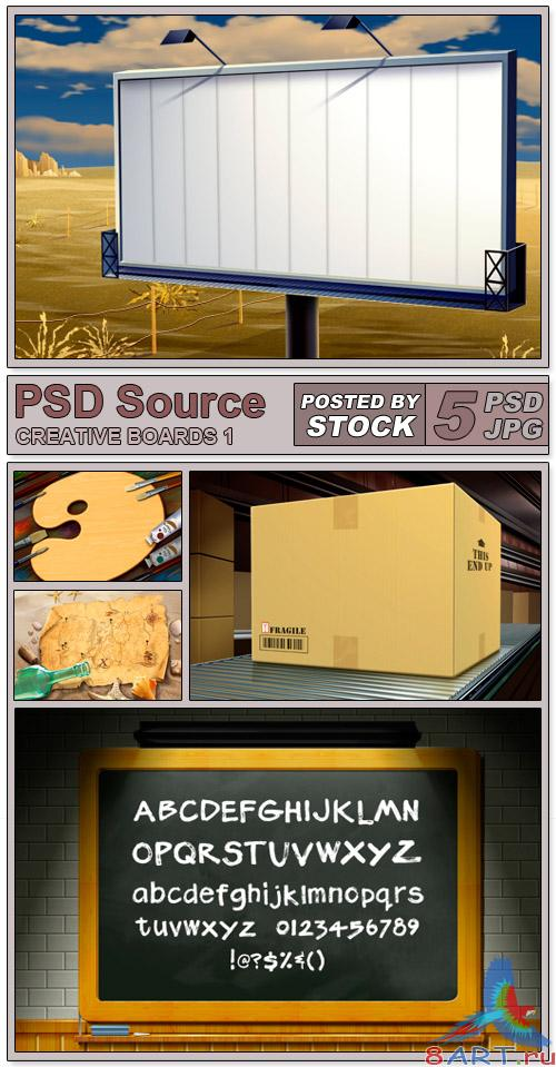 PSD Source - Creative boards 1