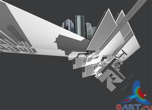 PSD - Abstract City Template