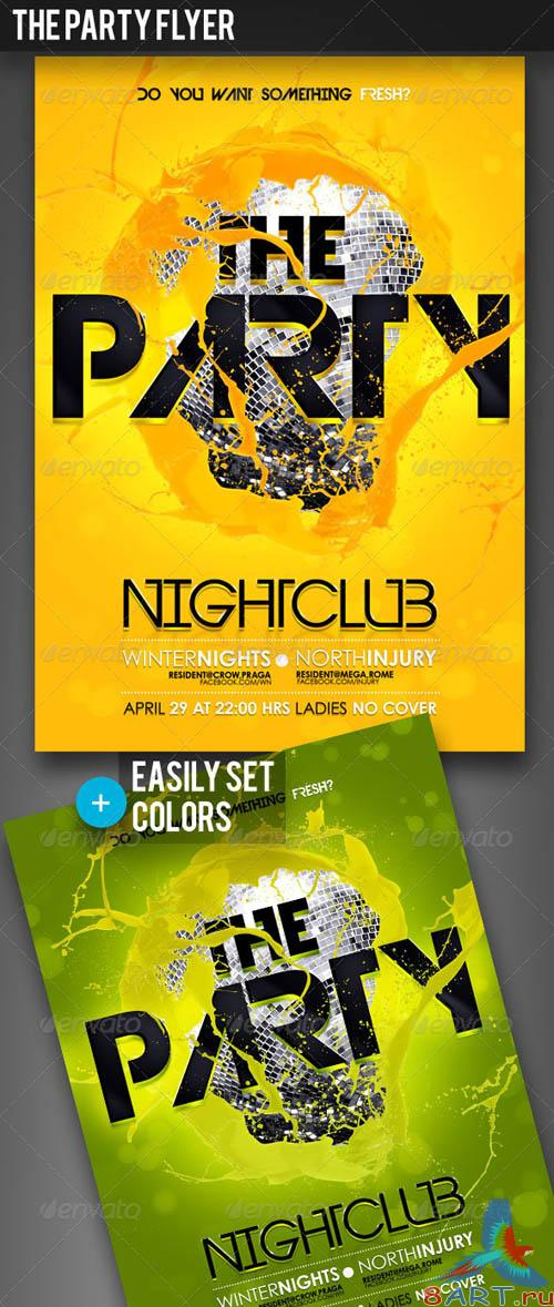 GraphicRiver The Party Flyer