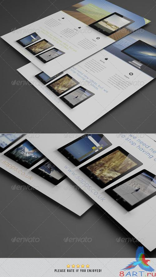 GraphicRiver Sapps | Corporate Flyer #1
