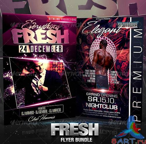GraphicRiver Fresh Flyer Bundle