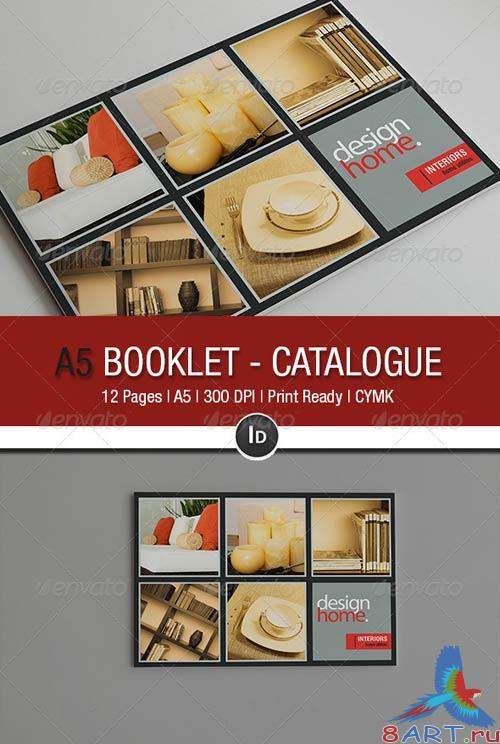 GraphicRiver A5 Booklet - Catalogue V 2.0