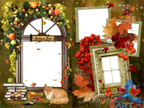 Frames for Adobe Photoshop - Autumn pleasure