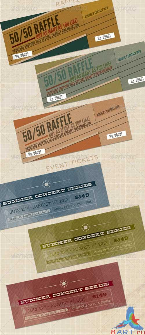 GraphicRiver Ticket Promo Pack