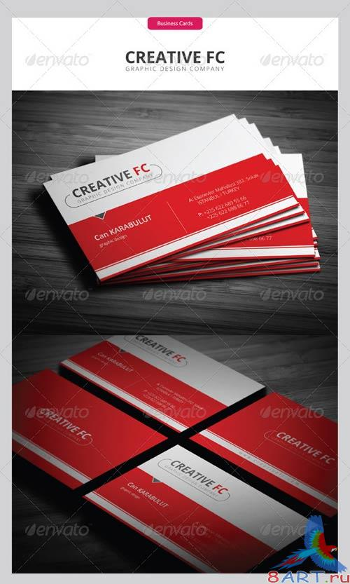 GraphicRiver Corporate Business Cards 248
