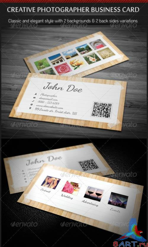 GraphicRiver Creative Photographer Business Card