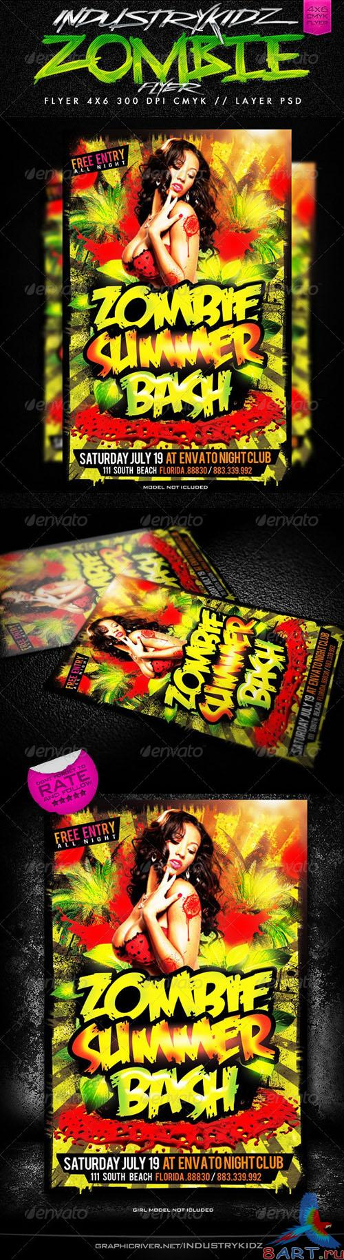 GraphicRiver - Zombie Summer Bash 2669564