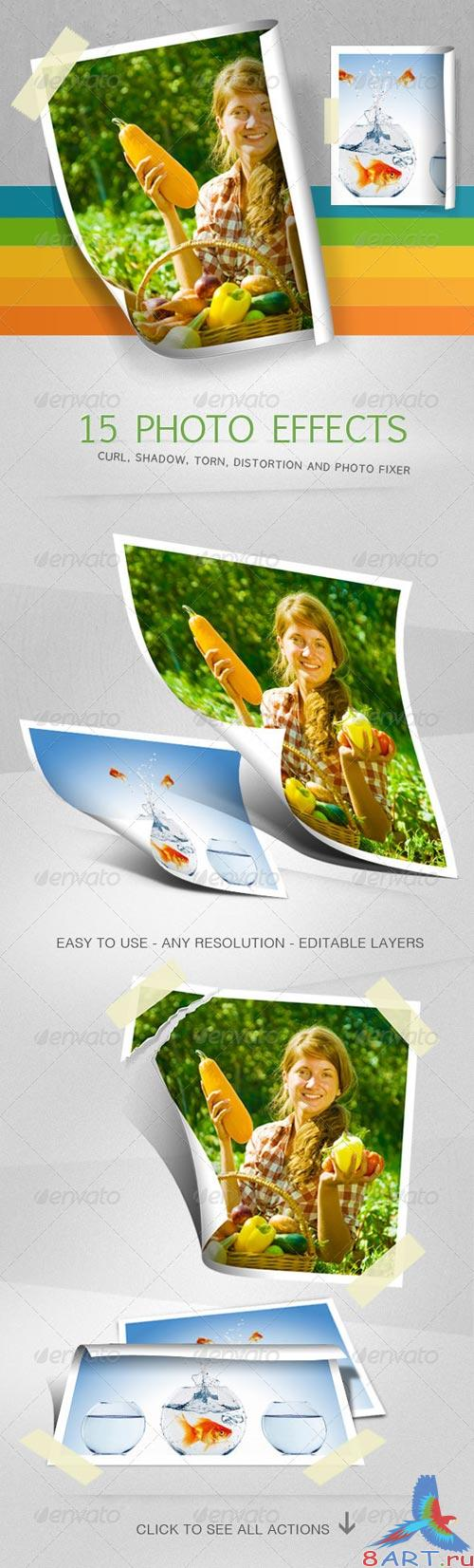 GraphicRiver 15 Photo Effects