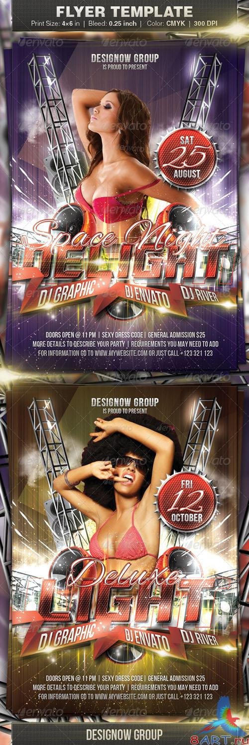 GraphicRiver - Space Night Delight Flyer 2702261