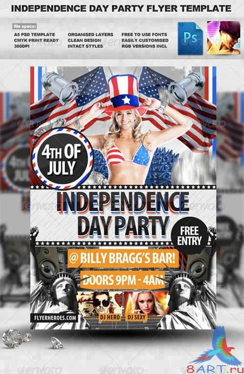 GraphicRiver 4th July / Independence Day Flyer