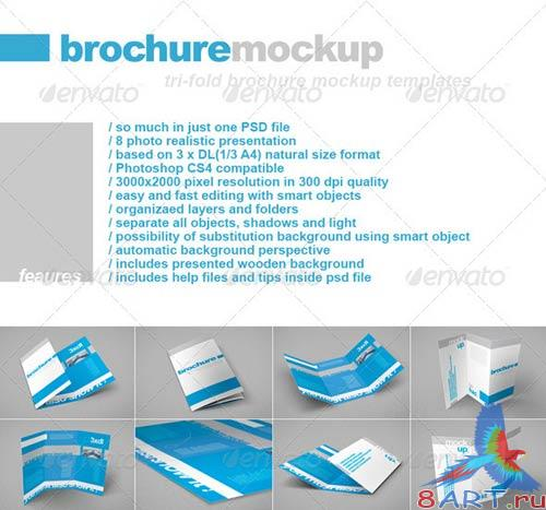 GraphicRiver Tri-Fold DL brochure
