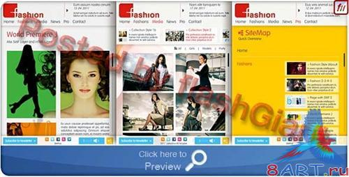 ActiveDen - proFashion – FaceBook Template