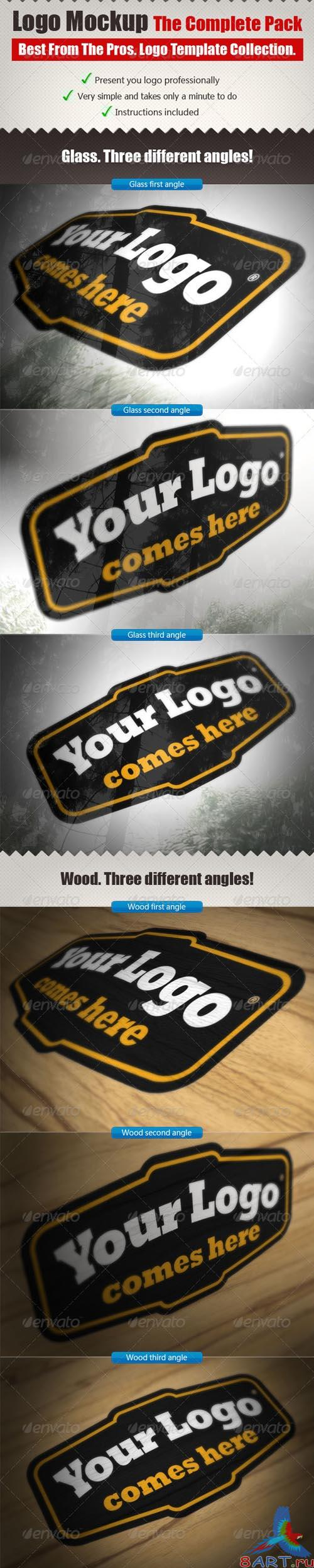 GraphicRiver The Complete Logo Mock Ups Pack - REUPLOAD