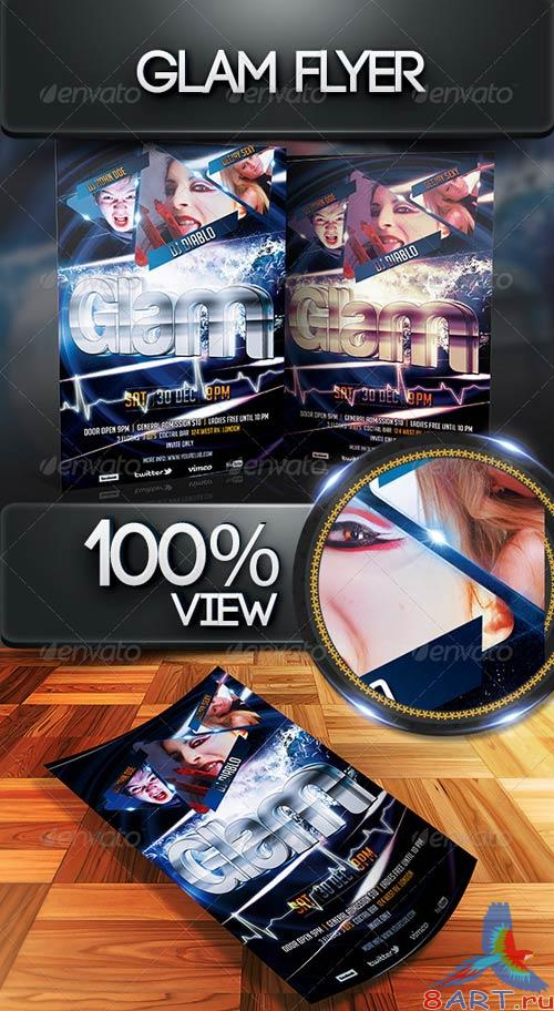 GraphicRiver Glam Flyer Template