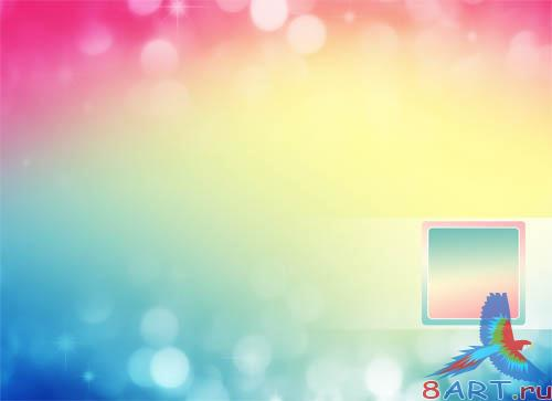 PSD - Colorful Stylish Template