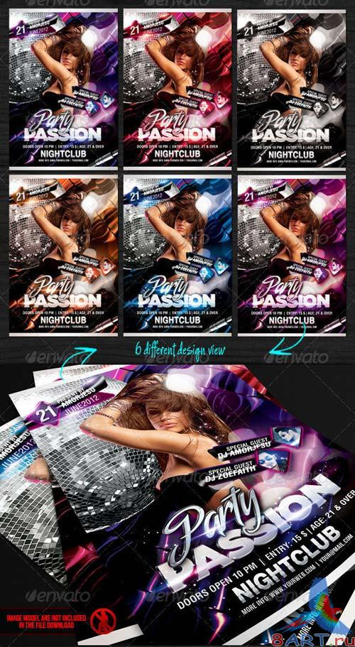 GraphicRiver Party Passion Flyer Template
