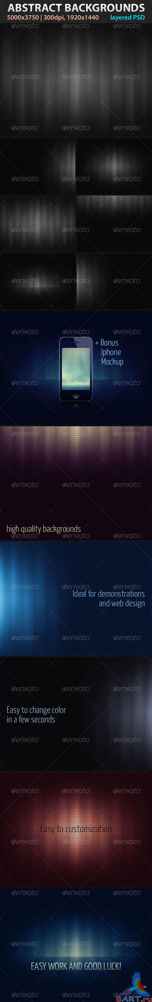 GraphicRiver Absctract Backgrounds - REUPLOAD