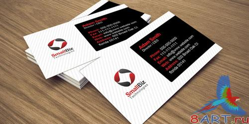 PSD Template - Clean Business Card Design
