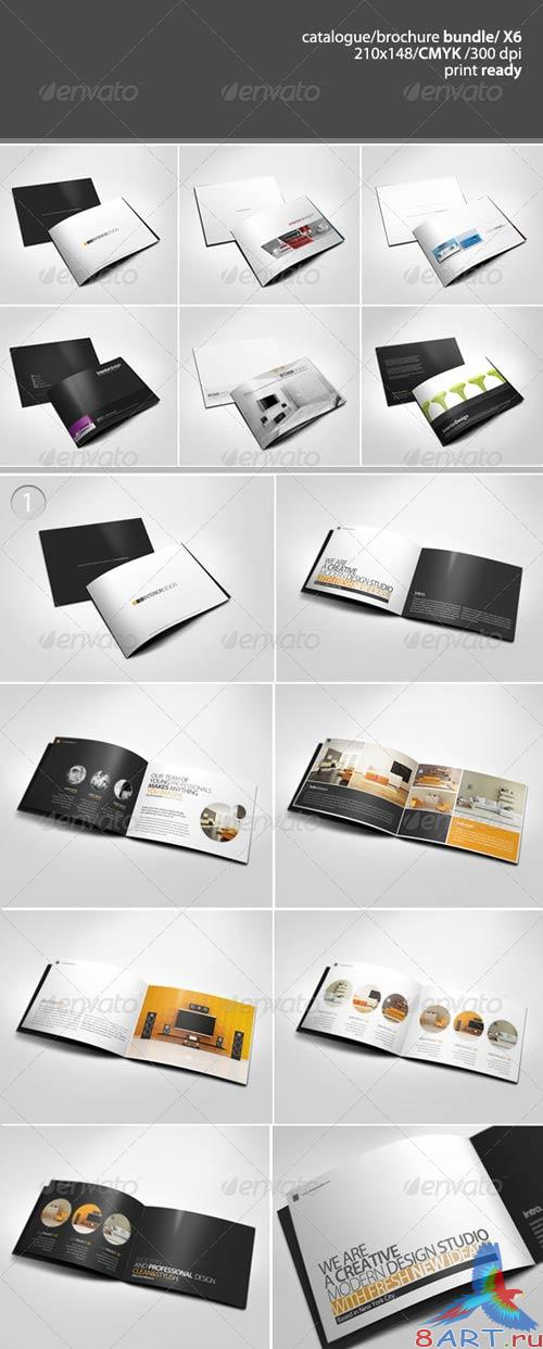 GraphicRiver A5 Catalogue / Brochure Bundle