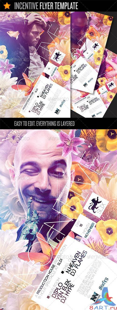 GraphicRiver Incentive - Flyer Template