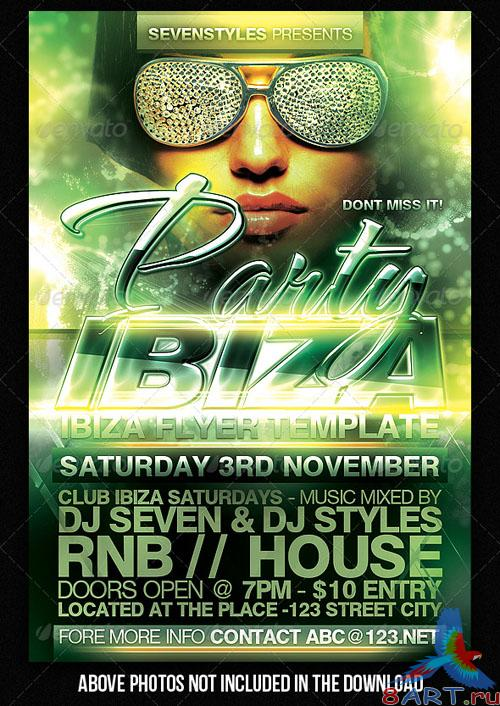 GraphicRiver Ibiza Flyer Template - REUPLOAD