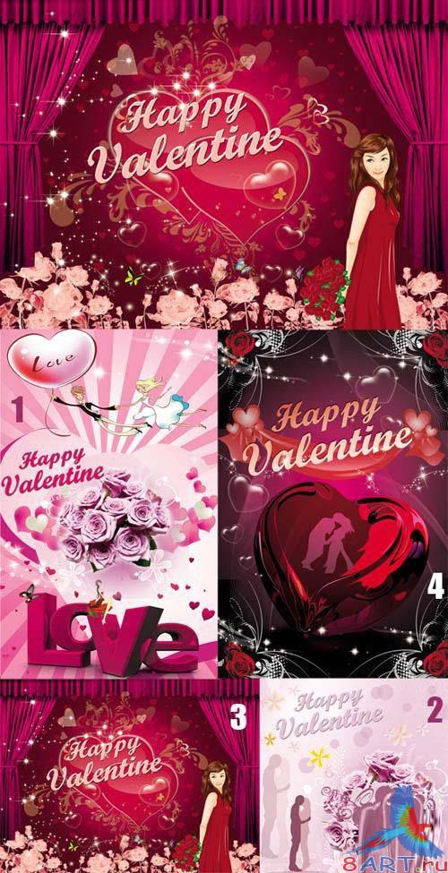 PSD templates - Valentine's Day 5