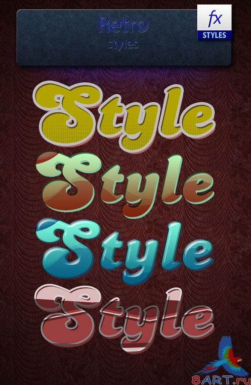 Retro Photoshop Styles