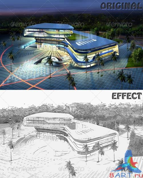 GraphicRiver Sketch Effect