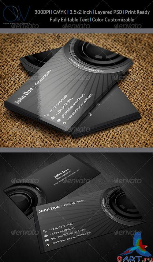 GraphicRiver Photographer Business Card