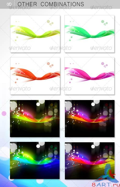 GraphicRiver ABSTRACT VEIL BACKGROUND