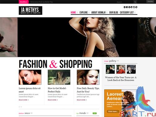JA Methys - Joomlart Template