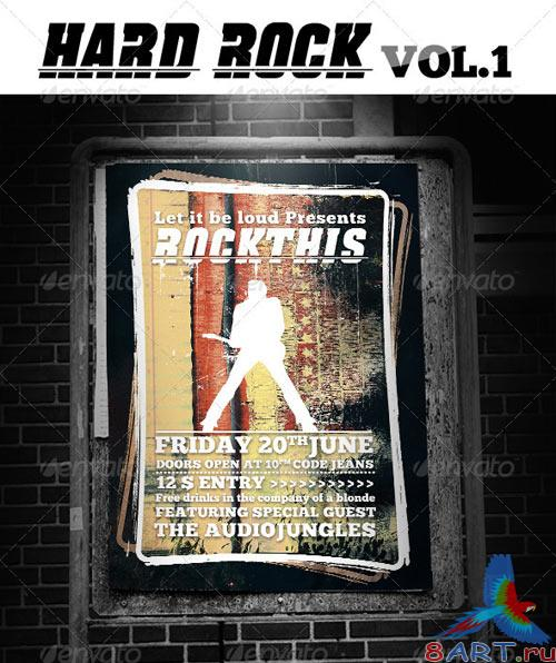 GraphicRiver Hard Rock Vol.1