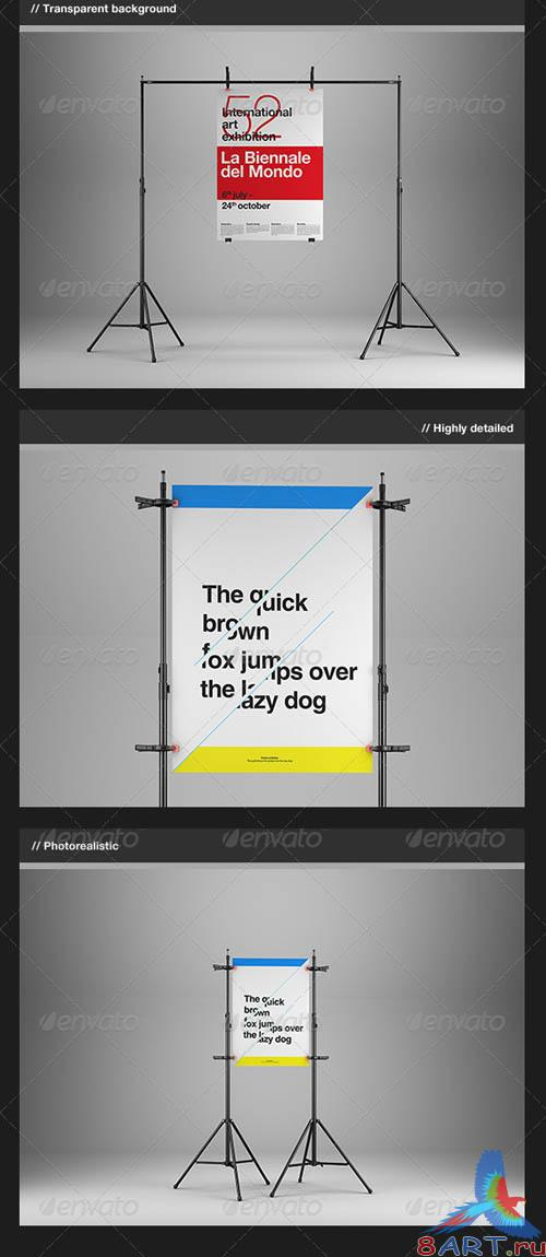 GraphicRiver Poster Mock-Up